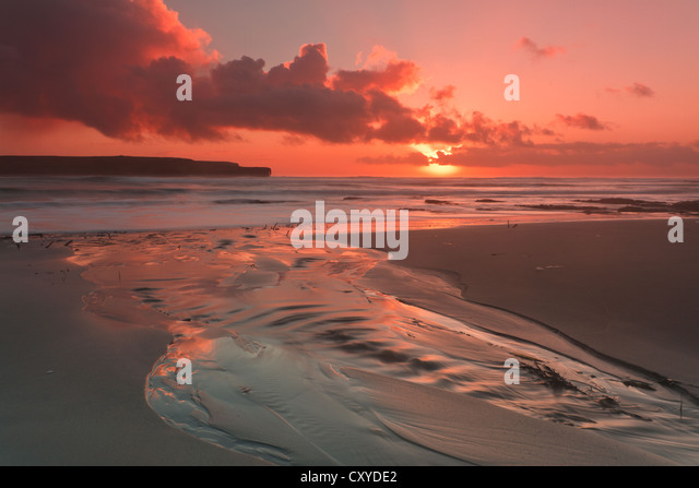 Orkney Islands, Skaill Beach - Stock Image