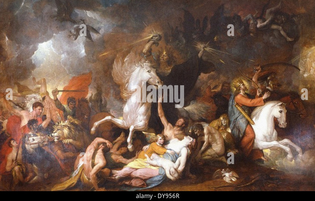 Benjamin West Death on the Pale Horse - Stock Image