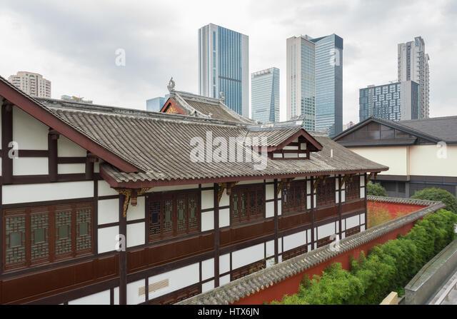 Chengdu Roof Stock Photos Chengdu Roof Stock Images Alamy