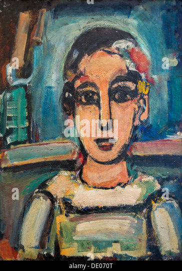 20th century  -  Pierrot, 1938 - Georges RouaultPhilippe Sauvan-Magnet / Active Museum - Stock Image