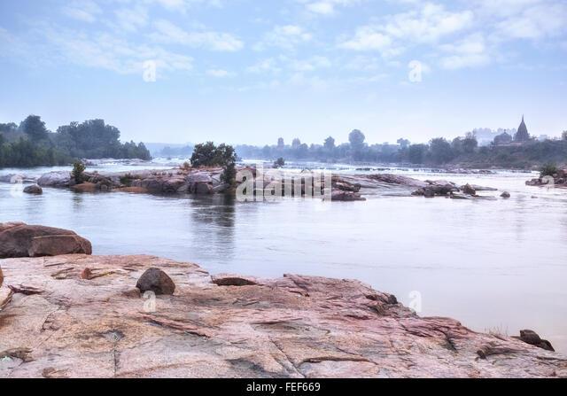 River Betwa, Orchha, Madhya Pradesh, India, South Asia - Stock-Bilder