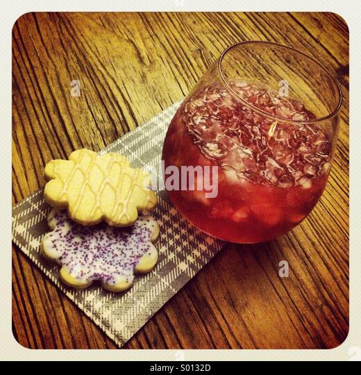 Cookies With Cheer - Stock Image