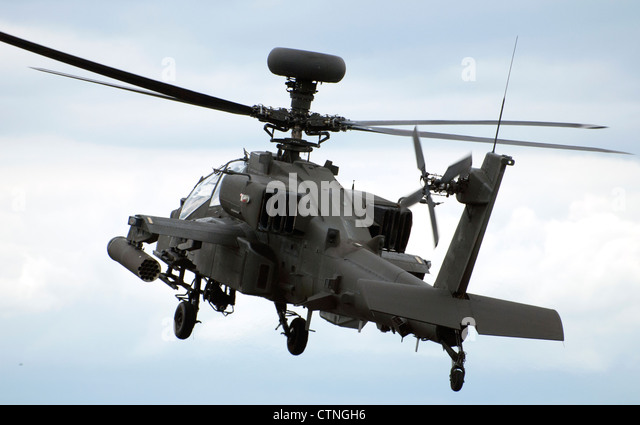 Apache Helicopter Guns...