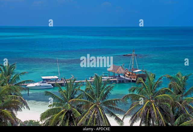 Mexico Isla Contoy National Park - Stock Image