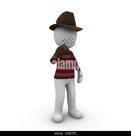 Movie characters 4 - Stock Image