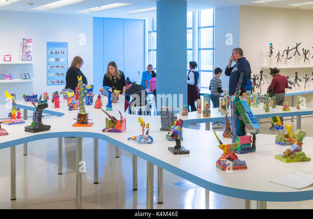 A Year with Children 2017, Solomon R. Guggenheim Museum, Manhattan, New York City, USA, North America - Stock Image