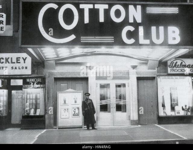 COTTON CLUB in Harlem, New York, about 1930 - Stock-Bilder
