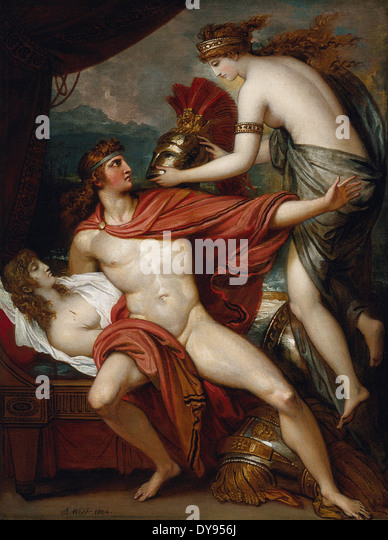 Benjamin West Thetis Bringing the Armor to Achilles - Stock Image
