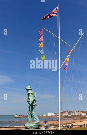 3865. Sailors Memorial, Margate, Kent, UK - Stock Image