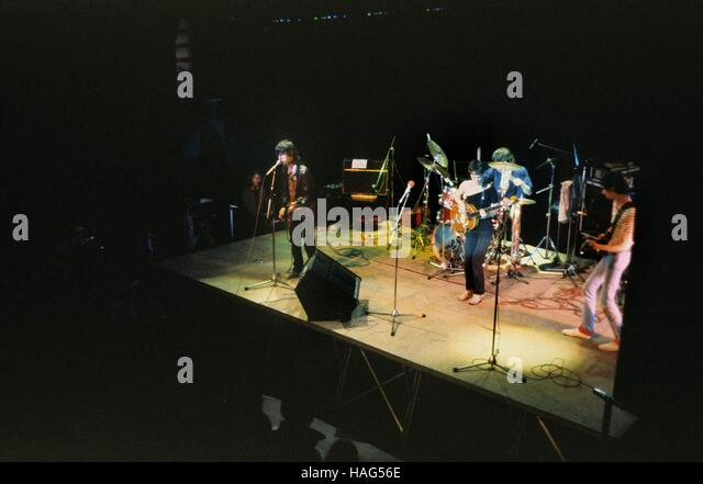 Telephone French rock band concert live Philippe Gras / Le Pictorium - Stock Image