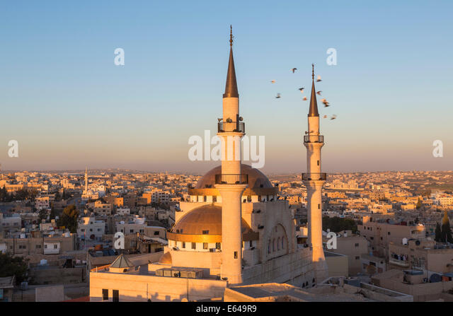 Madaba mosque, Madaba, Jordan - Stock Image