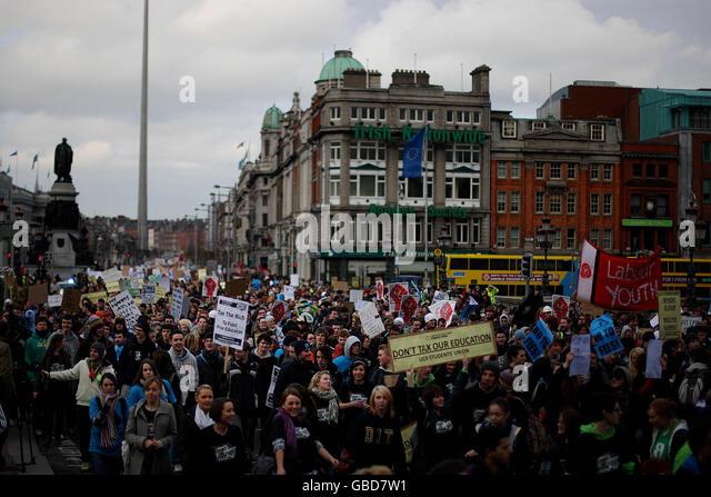 Union of Students in Ireland - Stock Image