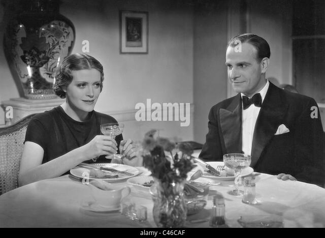 Sybille Schmitz and Jean Galland in 'The Unknown', 1936 - Stock Image