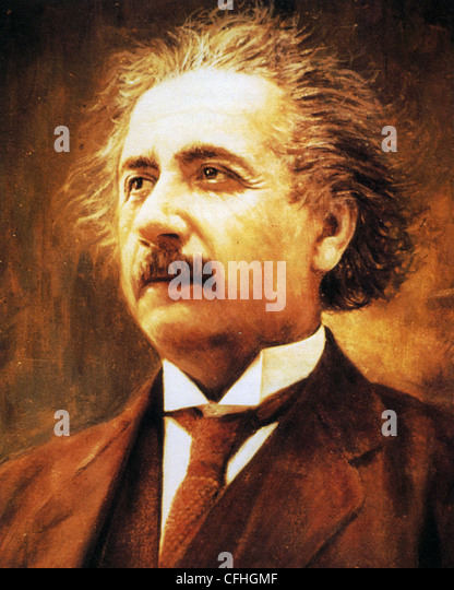 ALBERT EINSTEIN (1879-1955) German-born theoretical physicist - Stock-Bilder