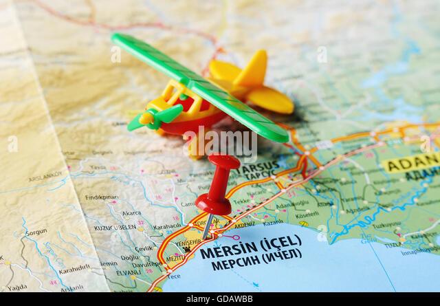 pin turkey map on - photo #47