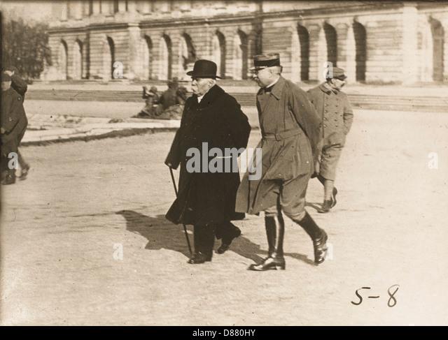 Clemenceau In Versailles - Stock Image