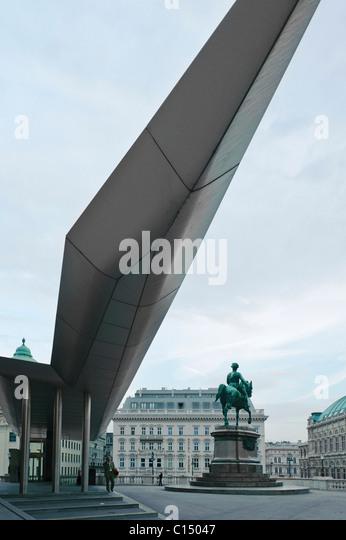 Albertina Museum Vienna Austria - Stock-Bilder