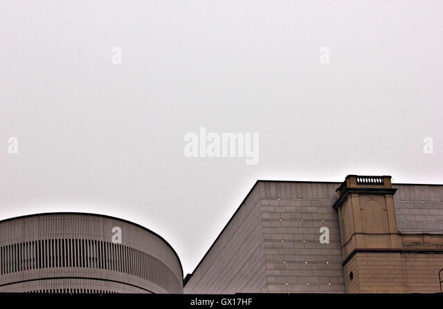 modern building, architecture, abstract, detail - Stock Image