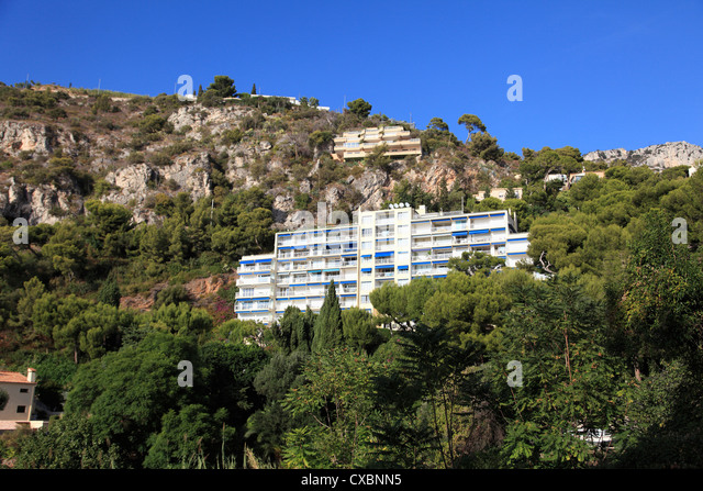 Cap d'Ail, Provence, Cote d'Azur, French Riviera, Mediterranean, France, Europe - Stock Image
