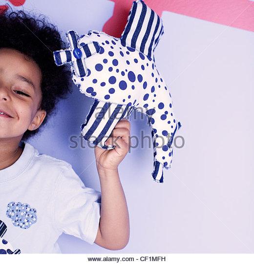 Little boy plane - Stock Image