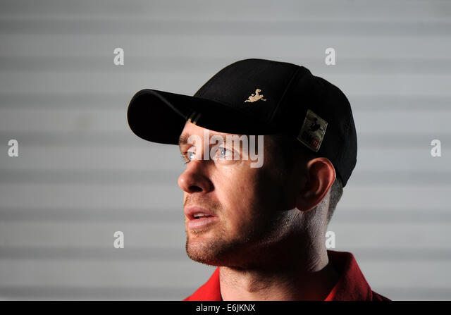 Former Wales Rugby International Shane Williams. - Stock Image