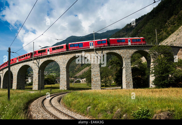 Bernina Express Stock Photos Bernina Express Stock