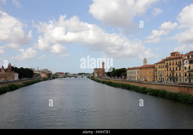 houses, city, town, tuscany, style of construction, architecture, architectural - Stock Image