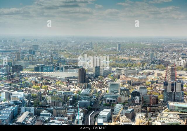United Kingdom, England, London, Cityscape - Stock-Bilder