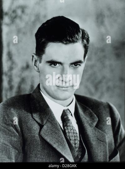 Howard Hughes (1905-1976), American Businessman, Aviator, Engineer, Film Producer & Philanthropist, Portrait, - Stock Image