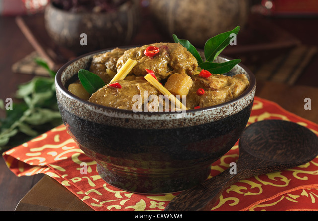 how to cook peranakan chicken curry