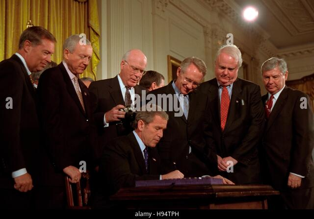 the u s patriotic act and george Usa patriot act legislation by: 107th us congress date: october 26, 2001 source: usa patriot act about the author: president george w bush signed the usa patriot act, previously passed by the first session of the 107th united states congress, into law on october 26, 2001.