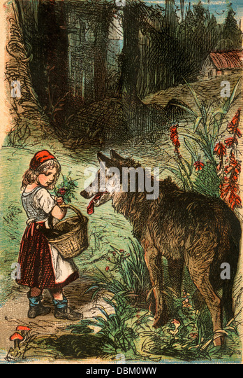 Grimm Fairy Tales Little Red Riding Hood Brothers Grimm ...