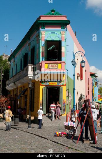 La Boca, Buenos Aires, Argentina - Stock Image