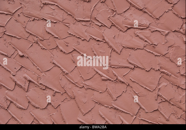 Stucco wall in Naples, Florida, USA - Stock-Bilder