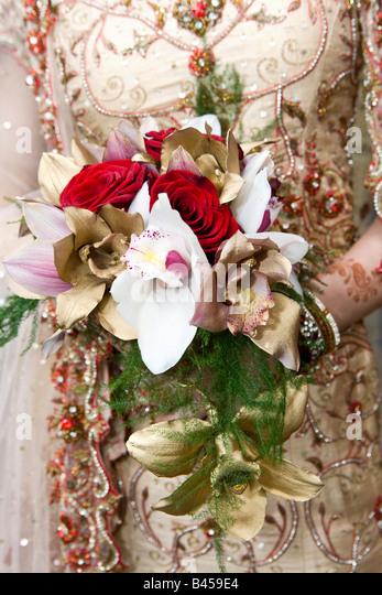 Bridal Bouquet In Mumbai : Henna wedding stock photos images