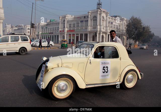 Yellow Cab Slc >> Old Car India Stock Photos & Old Car India Stock Images - Alamy