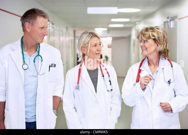Three doctors - Stock Image