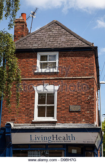 Birthplace of Margaret Thatcher , Grantham, Lincolnshire - Stock Image