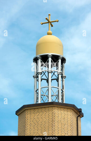 Deutschland, Nordrhein-Westfalen, Delbrück, syrisch-orthodoxe Kirche Mor Malke - Stock-Bilder