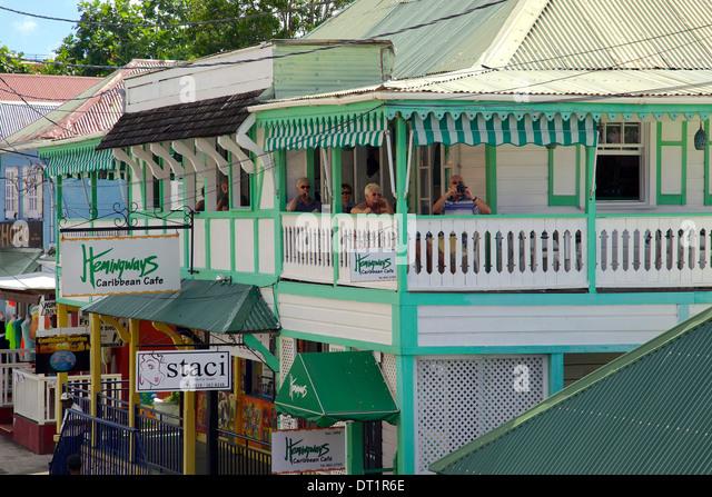 Hemingway Caribbean: St Johns Antigua Stock Photos & St Johns Antigua Stock
