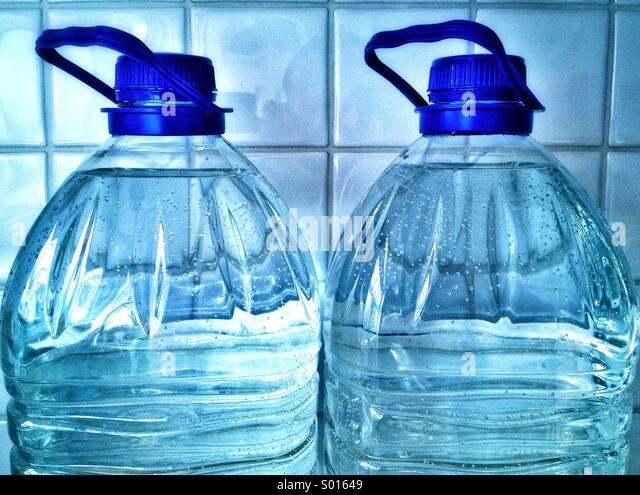 Water Bottles - Stock Image