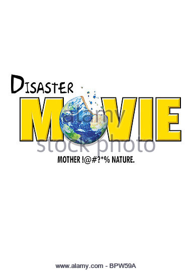 MOVIE POSTER DISASTER MOVIE (2008) - Stock-Bilder