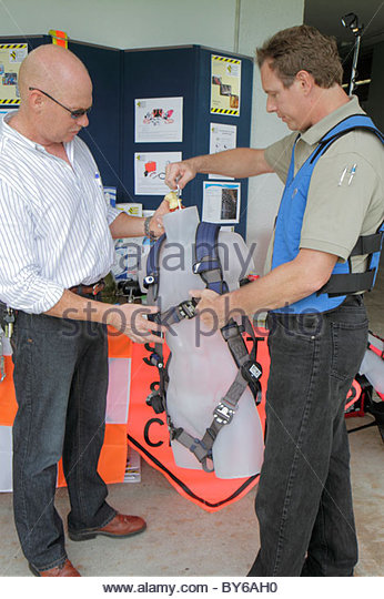 Florida Hollywood South Florida Safety Expo US Department of Labor Occupational Safety and Health Administration - Stock Image
