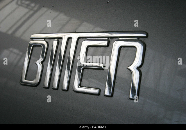 Car, V8 coupé Concept of Erich Bitter, silver, roadster, model year 2003, 340 PS, 5.665 cms, € 112.520,--, - Stock Image