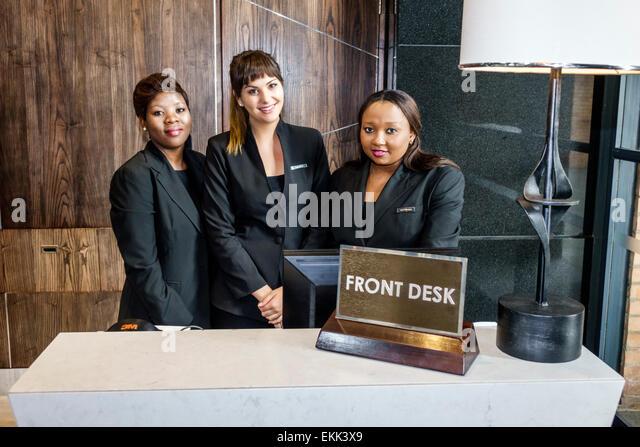 Hyatt employee stock photos hyatt employee stock images for Spa uniforms johannesburg
