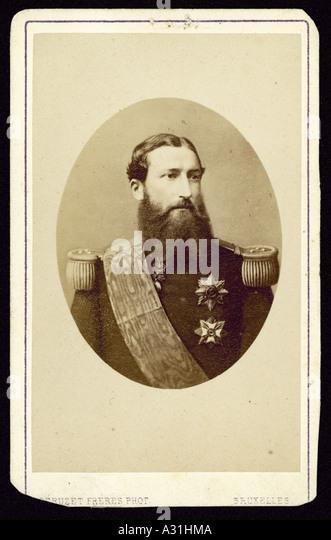 Vittorio Emanuele Ii Cdv - Stock Image