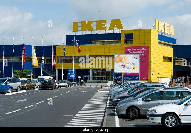 Carpark shopping centre stock photos carpark shopping centre stock images alamy - Ikea bordeaux lac horaires ...
