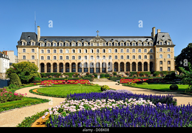 Saint Georges palace, Rennes, France. - Stock Image