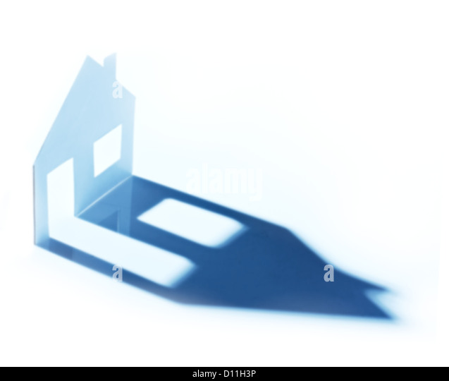 New home imagination . - Stock Image