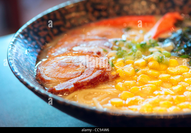 noodle in japanese style on table - Stock-Bilder